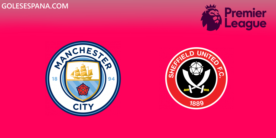 Manchester City vs Sheffield United en VIVO Online - Premier League 2019-2020 en directo Jornada 20