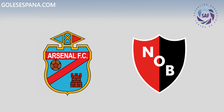 Arsenal vs Newell's en VIVO Online - Superliga 2019-2020 en directo Jornada 17