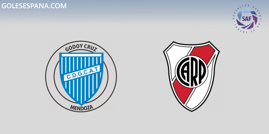 Godoy Cruz vs River en VIVO Online - Superliga 2019-2020 en directo Jornada 17
