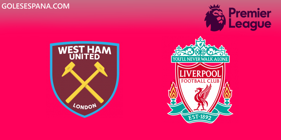 West Ham vs Liverpool en VIVO Online - Premier League 2019-2020 en directo Jornada 18
