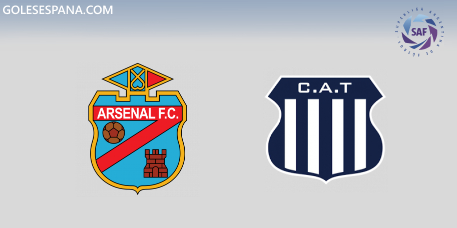 Arsenal vs Talleres en VIVO Online - Superliga 2019-2020 en directo Jornada 19